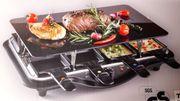 Tisch Grill mit Glaskeramikplatte
