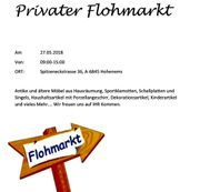 Grosser Flohmarkt! 27.