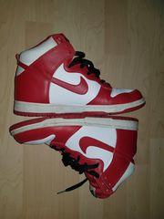 Nike Dunk High White Varsity