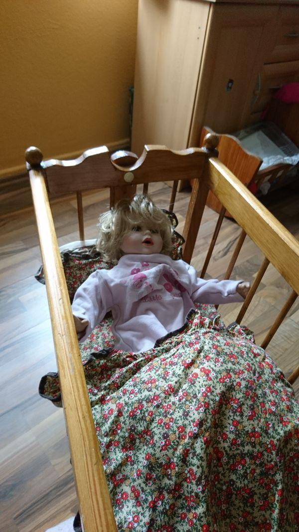 Babypuppen & Zubehör Puppen  Nostalgie Stuhl  Top gepflegt