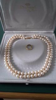 Perlenkette - Halskette - Armband -