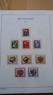 Briefmarkensammlung West Berlin