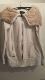 Soccx Sweatshirtjacke mit großer Kaputze