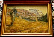 Ölgemälde Hünerkopf geb 1914 B008
