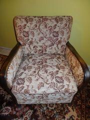 Alter Sessel aus