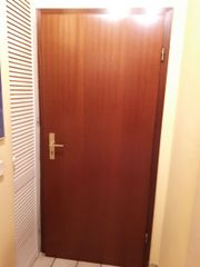 4 Zimmertüren (mahagonifarben/