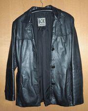 Damen Leder Jacke im Blazer