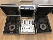 2x Pioneer CDJ900 DJM850-W Mit