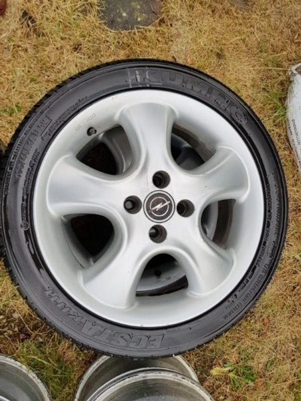 Alufelgen für Opel kaufen / Alufelgen für Opel gebraucht - dhd24.com