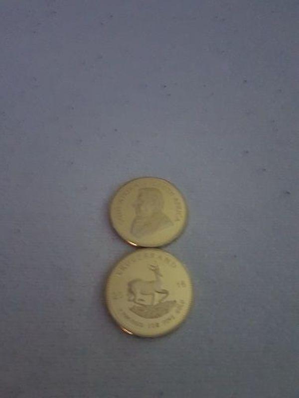 1 Unze Krugerrand 2016 24k Vergoldet Neu In Winterthur Münzen