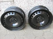 2 Original Ford Focus Stahl-Felgen