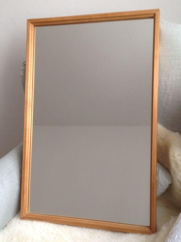 Antiker Spiegel mit Holzrahmen in München - Garderobe, Flur, Keller ...