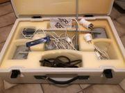 Displaybeleuchtung Strahler 4x im Koffer