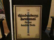 Hindenburg Denkmal für das deutsche