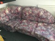 Wohnzimmer Couch (Microfaser)