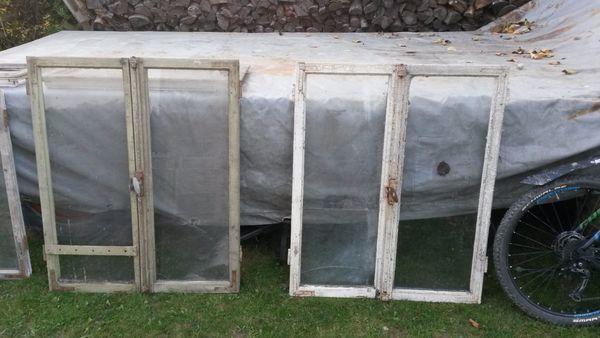 Alte Holzfenster für Deko