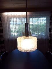 Lampen Hängelampen 2x Glas Chrom