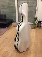 Cellokasten Pacato Felice Wheels weiß