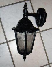 Außenlampe Gusseisen -sehr gut erhalten-
