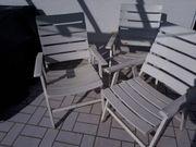 3 Terrassenstühle Holz