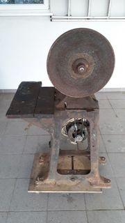 Verkaufe Antike Schleifmaschine