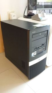 HP COMPAQ PC MIT WINDOWS