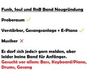 Musiker für Soul RnB gesucht