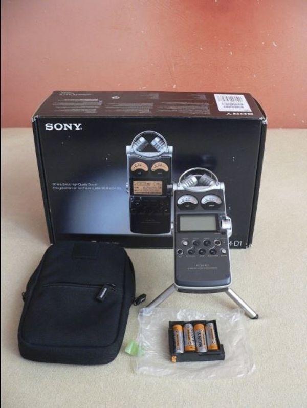Sony PCM D1 Digitaler lineare
