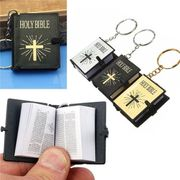 Schlüsselanhänger Mini-Bibel NEU
