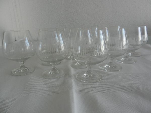 Schott Kristall Cognacschwenker » Geschirr und Besteck