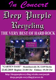 Deep Purple Recycling rockt in
