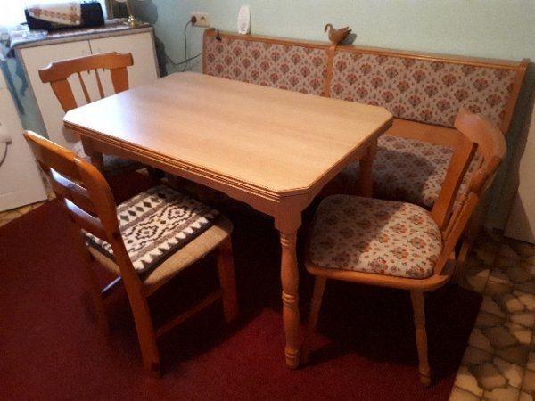 Esszimmer Bank Tisch Stuhle Vieles Kostenlos In Budingen