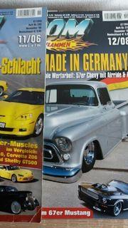 2 Autozeitschriften zusammen