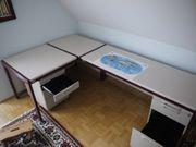 Empfangstresen Schreibtisch im Winkelformat dekorativ