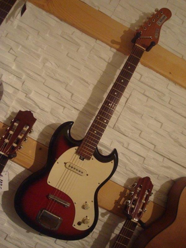 Real Vintage E-Gitarre \'Arbiter SG\' (60/70iger Jahre!) - Made in ...