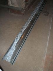 Zink-Dachrinnen 333er 15cm Durchmesser 3m-Stücke