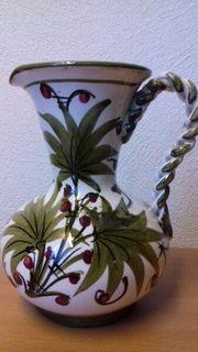 schöne ältere Vase aus Keramik