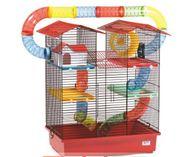 Hamsterkäfig, 3-stöckig