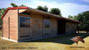 Außenboxen für Pferde TEXAS Pferdeställe