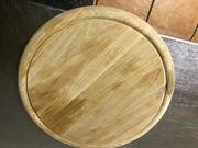 Holzteller rund