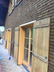 Holzfenster gut erhalten