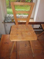 Stabiler Holzstuhl Stuhl