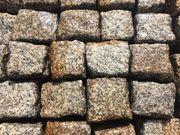 Alte Granit Pflastersteine 9 x