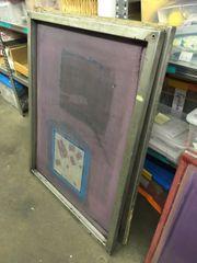Siebdruck Rahmen - Siebdruckrahmen Drucksieb Siebdruck