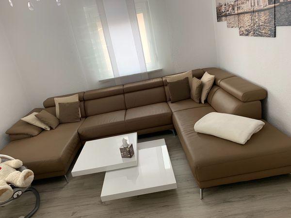 Braune Wohnlandschaft In Aalen Polster Sessel Couch Kaufen Und