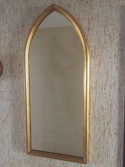 Wunderschöner, goldener Spiegel