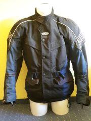 Clover Textil Motorradjacke mit Protektoren