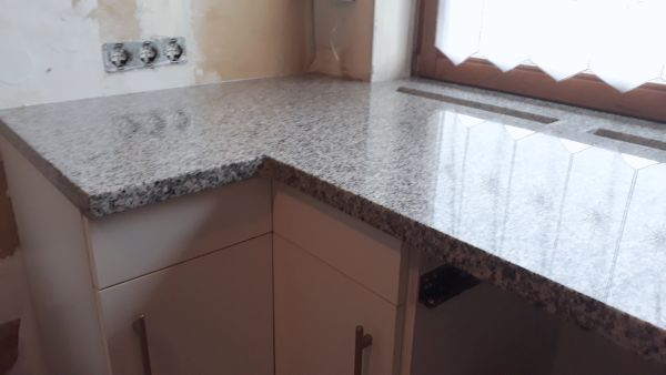 Küchenarbeitsplatte Outdoor Granitarbeitsplatte Granitplatte - Küchenarbeitsplatte aus fliesen