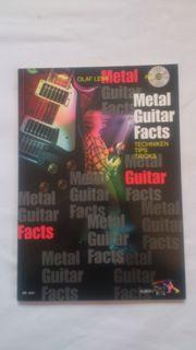 Metal Guitar Facts -
