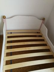 Mädchenbett Bett Holzbett 90x200